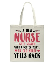 A New Nurse Get Scared When A Doctor Yells Tote Bag thumbnail