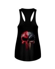 Love Skull Tee Ladies Flowy Tank thumbnail