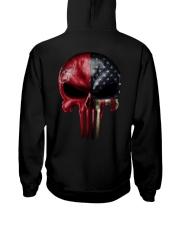 Love Skull Tee Hooded Sweatshirt thumbnail
