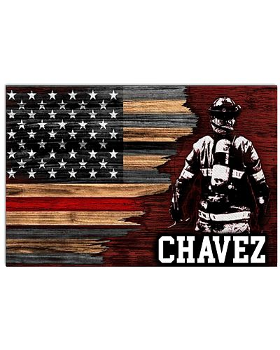 Chavez Firefighter Poster