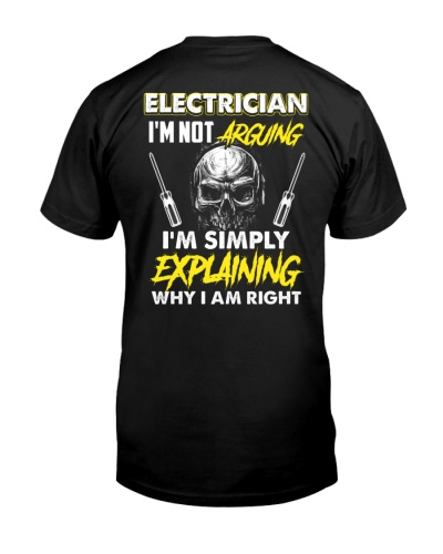 Electrician Not Arguing