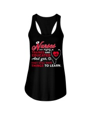 Nurses Are Highly Trained And Educated Ladies Flowy Tank thumbnail