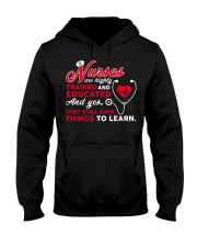 Nurses Are Highly Trained And Educated Hooded Sweatshirt thumbnail