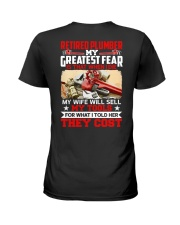 Retired Plumber My greatest fear Ladies T-Shirt thumbnail