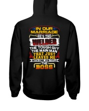 In Our Marriage He's The Welder The Tough Guy Hooded Sweatshirt thumbnail