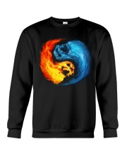 Skull Color Tee Crewneck Sweatshirt thumbnail