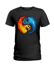 Skull Color Tee Ladies T-Shirt thumbnail