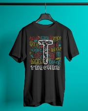 Teacher Color Classic T-Shirt lifestyle-mens-crewneck-front-3