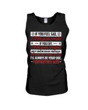 I'll Always Be Your Side Firefighter's Wife Unisex Tank thumbnail