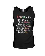 Teacher Like Friends Unisex Tank thumbnail