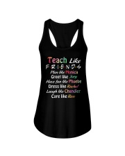 Teacher Like Friends Ladies Flowy Tank thumbnail