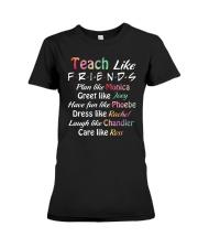 Teacher Like Friends Premium Fit Ladies Tee thumbnail