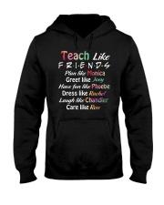 Teacher Like Friends Hooded Sweatshirt thumbnail