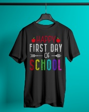 Happy First Day Of School Classic T-Shirt lifestyle-mens-crewneck-front-3