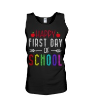 Happy First Day Of School Unisex Tank thumbnail