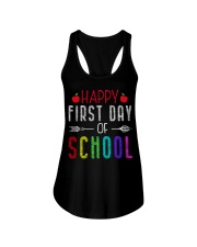 Happy First Day Of School Ladies Flowy Tank thumbnail