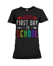 Happy First Day Of School Premium Fit Ladies Tee thumbnail