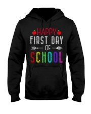 Happy First Day Of School Hooded Sweatshirt thumbnail
