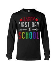 Happy First Day Of School Long Sleeve Tee thumbnail