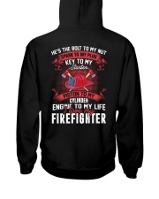 Engine To My Life I Love My Firefighter Hooded Sweatshirt thumbnail