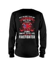 Engine To My Life I Love My Firefighter Long Sleeve Tee thumbnail