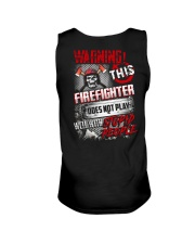 Warning This Firefighter Does Not Play Unisex Tank thumbnail