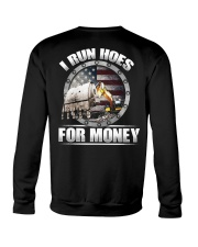 I Run Hoes For Money Crewneck Sweatshirt thumbnail