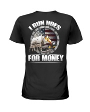 I Run Hoes For Money Ladies T-Shirt thumbnail