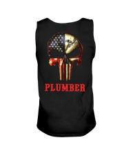 Plumber Skull Unisex Tank thumbnail