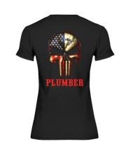 Plumber Skull Premium Fit Ladies Tee thumbnail