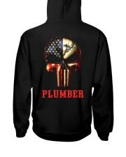 Plumber Skull Hooded Sweatshirt thumbnail