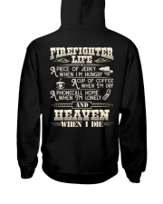 Firefighter Life A Piece Of Jerky When I'm Hungry Hooded Sweatshirt thumbnail