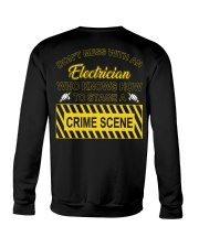 Don't Mess With An Electrician  Crewneck Sweatshirt thumbnail