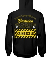 Don't Mess With An Electrician  Hooded Sweatshirt thumbnail