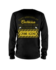 Don't Mess With An Electrician  Long Sleeve Tee thumbnail