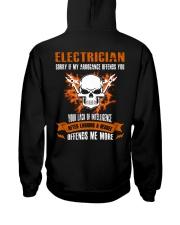 Electrician My Arrogance Offends You Hooded Sweatshirt thumbnail