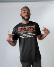 Genuine Retired Lineman Classic T-Shirt apparel-classic-tshirt-lifestyle-front-32