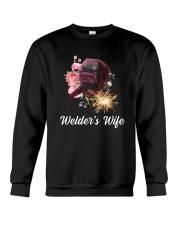 Welder's Wife  Crewneck Sweatshirt thumbnail