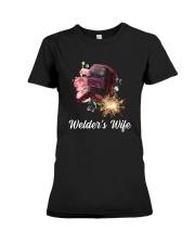 Welder's Wife  Premium Fit Ladies Tee thumbnail