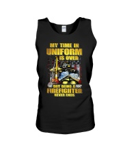 Uniform Is Over But Being A Firefighter Unisex Tank tile