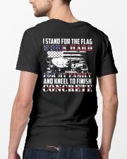 Kneel To Finish Concrete Classic T-Shirt lifestyle-mens-crewneck-back-5