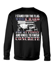 Kneel To Finish Concrete Crewneck Sweatshirt thumbnail