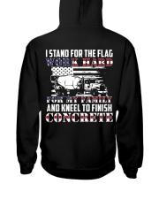 Kneel To Finish Concrete Hooded Sweatshirt thumbnail