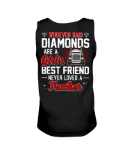 Whoever Said Diamonds Are A Girl's Best Friend Unisex Tank thumbnail