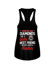Whoever Said Diamonds Are A Girl's Best Friend Ladies Flowy Tank thumbnail