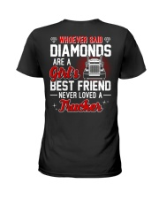 Whoever Said Diamonds Are A Girl's Best Friend Ladies T-Shirt thumbnail