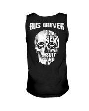 Bus Driver Because I'm Far Too Sexy To Wear Suit Unisex Tank thumbnail