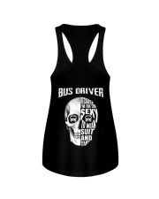Bus Driver Because I'm Far Too Sexy To Wear Suit Ladies Flowy Tank thumbnail