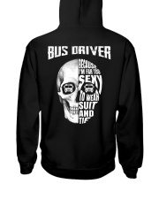 Bus Driver Because I'm Far Too Sexy To Wear Suit Hooded Sweatshirt thumbnail