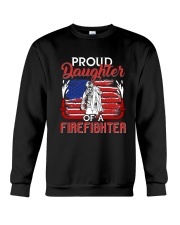 Proud Daughter Firefighter Crewneck Sweatshirt thumbnail